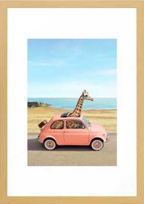 Italy Framed Art Print - Society6