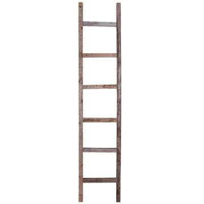 Rustic 6 ft Decorative Ladder - Wayfair