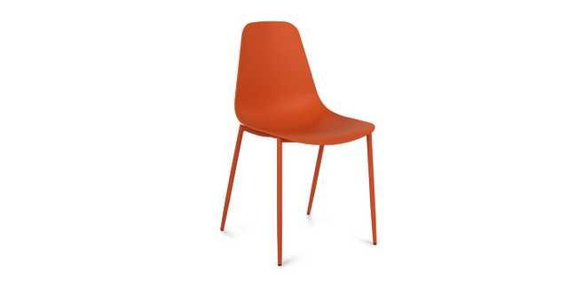 Svelti Begonia Orange Dining Chair (set of 2) - Article