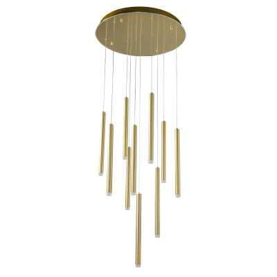 Mitch 10-Light LED Cluster Cylinder Pendant - Wayfair