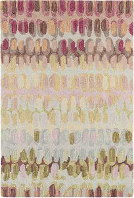 PAINT CHIP PASTEL MICRO HOOKED WOOL RUG - 6'x9' - Dash and Albert
