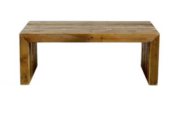 Adkisson Reclaimed Wood Coffee Table - Wayfair