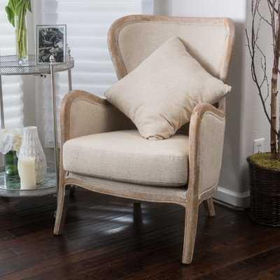 """Gazon 24.75"""" Wingback Chair - Birch Lane"""