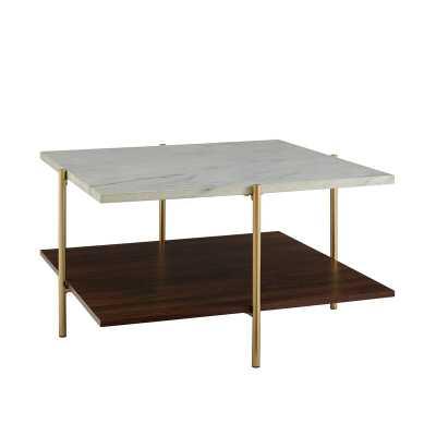 Carillo Coffee Table with Storage - Wayfair