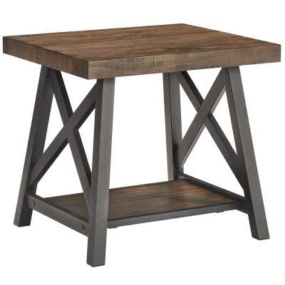Silvis End Table - Wayfair