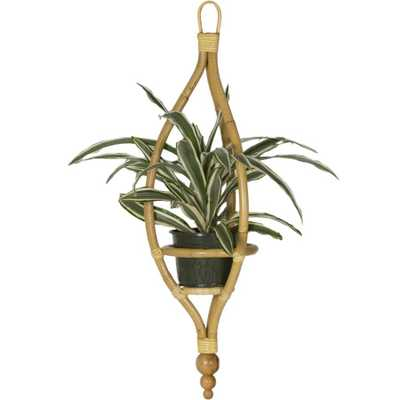 Miya Hanging Planter in Natural design by Selamat - Burke Decor