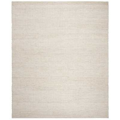 Natural Fiber Ivory 9 ft. x 12 ft. Indoor Area Rug - Home Depot