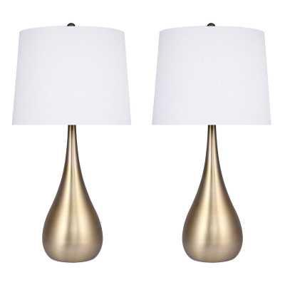 "Luana Metal 30"" Table Lamp-(Set of 2) - Wayfair"