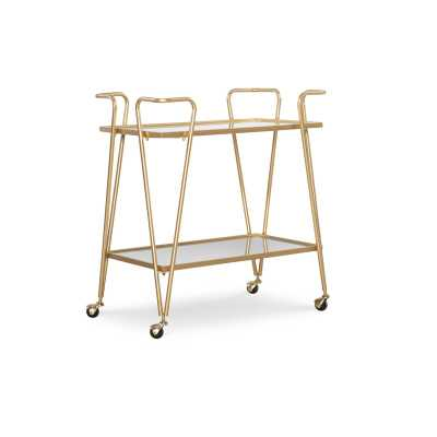 Laurence Mid-Century Bar Cart - Wayfair