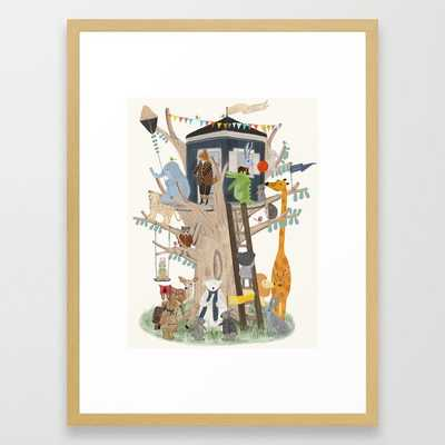 little playhouse Framed Art Print - Society6