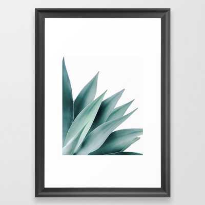 Agave flare II Framed Art Print - Society6