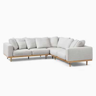 Newport 3-Piece L-Shaped Sectional - West Elm