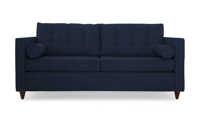 Braxton Sleeper Sofa- Bentley Indigo- Mocha - Joybird