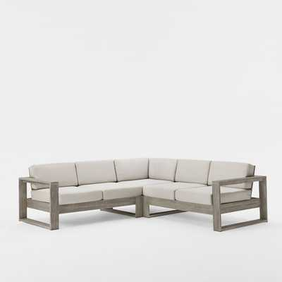 Portside 3-Piece Sectional - West Elm