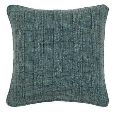 Heirloom Linen Pillow, Mallard - Burke Decor