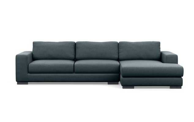 """HENRY Sectional Sofa with Right Chaise - 110"""" - Union - Interior Define"""