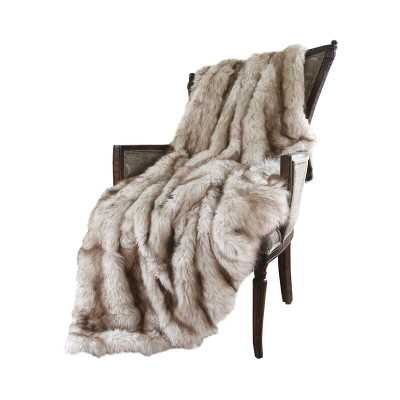 Demartino Faux Fur Throw - AllModern
