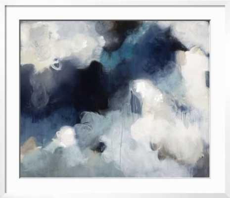 BLUES- Chelsea white frame - art.com