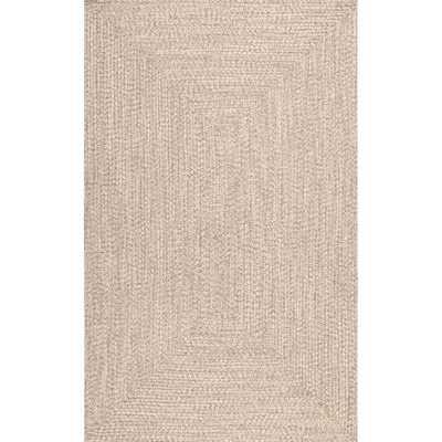 "Bromsgrove Hand-Braided Tan Indoor/Outdoor Area Rug _ 8'6"" x 11'6"" - Wayfair"