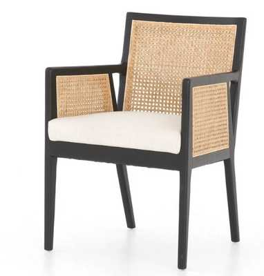 Antonia Cane Dining Arm Chair - Burke Decor