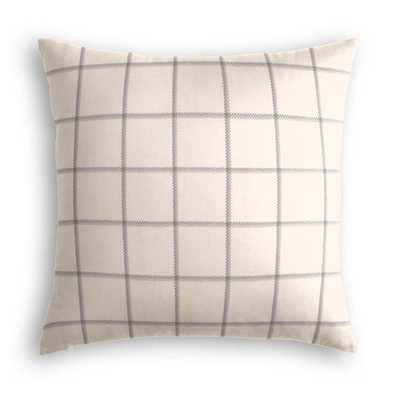 """Throw Pillow End of the Line - Ash 20"""" x 20"""" - Loom Decor"""