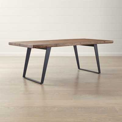 "Yukon 80"" Dining Table - Crate and Barrel"