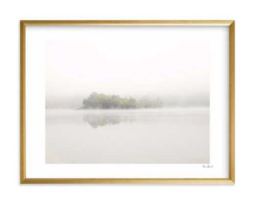 The Island art framed 24x18 - Minted
