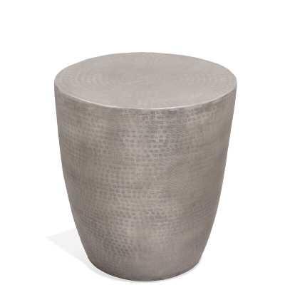 Ayman Drum End Table - Wayfair