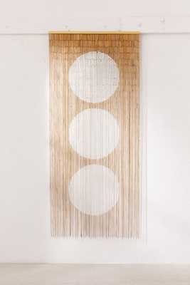 Big Dot Bamboo Beaded Curtain - Urban Outfitters