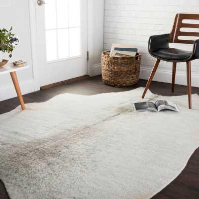 Kaci Silver/Grey Area Rug - Wayfair