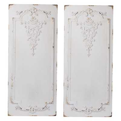 A & B Home Prasoon Wall Panels - Set of 2 - Hayneedle