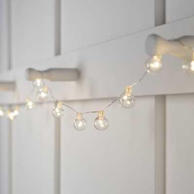 Glass Ball 20 Light LED Battery String Light - Wayfair