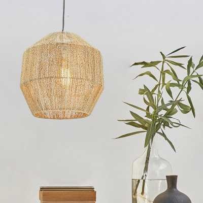 Haddington 1-Light Lantern Pendant - Wayfair