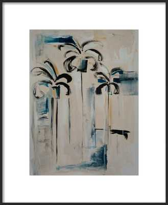 "Emerging Palms 18 x 22"" - Artfully Walls"