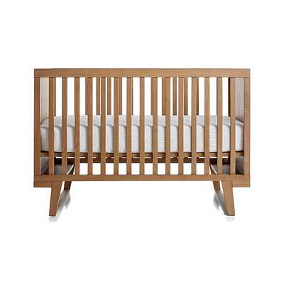 Cameron Ash Crib - Crate and Barrel