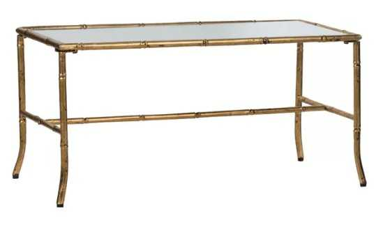 Phyllis Coffee Table - Antique Gold - Wayfair