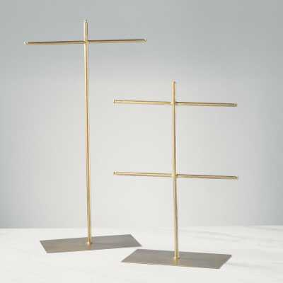 T-Bar 2 Piece Jewelry Stand Set - Wayfair