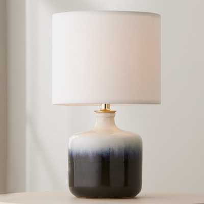 BLUE AND WHITE GRADIENT TABLE LAMP - SMALL - Lamps Plus