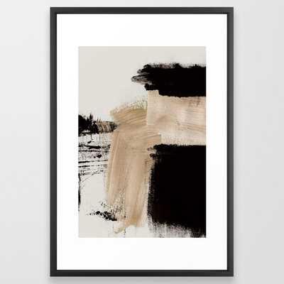 Path Framed Art Print - Society6