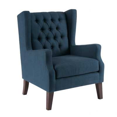 Allis Button Tufted Wingback Chair - Wayfair