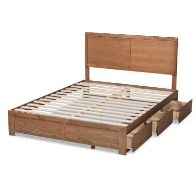 B?etislav Low Profile Storage Platform Bed - Wayfair