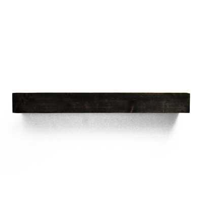 Modern Farmhouse Fireplace Shelf Mantel- Midnight Black - Wayfair