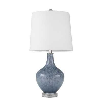 """Burkhardt Glass Teardrop 28"""" Table Lamp - Wayfair"""