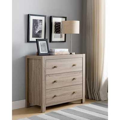 Edwardo Utility 3 Drawer Dresser - Wayfair