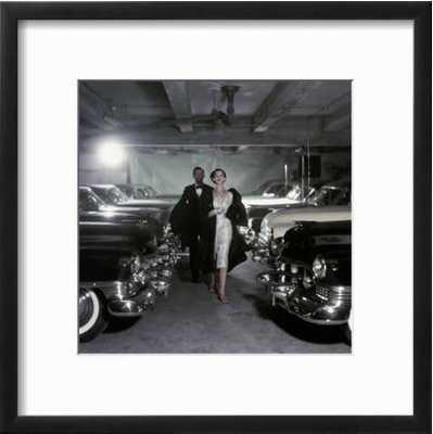 Vogue - November 1952 - Parking Garage - art.com