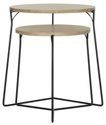 RYNE RETRO MID CENTURY STACKING END TABLE - Arlo Home