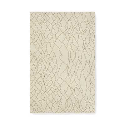 Mountain Fog Hand Knotted Rug, Ivory, Custom Size 12'x18' - Williams Sonoma Home