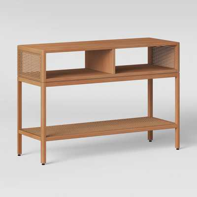 Minsmere Caned Console Table Natural Brown - Opalhouse - Target