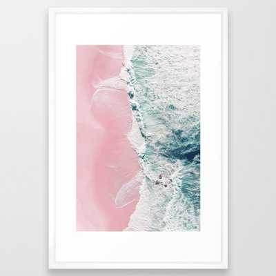 sea of love II Framed Art Print by Ingrid Beddoes photography - Society6