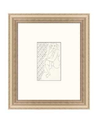 SIMPLE SKETCHED WOMAN Framed Art - McGee & Co.